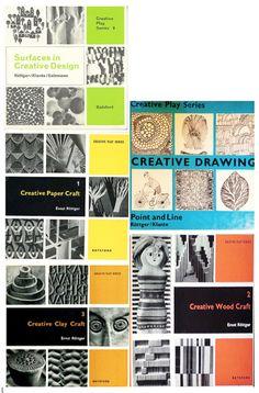 Ernst Röttger - mid 20th century 'how-to' drawing, art, design books