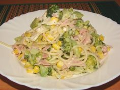 Detail receptu - Špagety s brokolicí a sýrem Cottage Quinoa, Potato Salad, Cabbage, Potatoes, Cooking Recipes, Meat, Chicken, Vegetables, Ethnic Recipes
