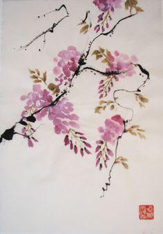 pintura japonesa tradicional - Buscar con Google