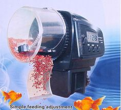Aquarium Automatic Fish Food Tank Feeder Timer can CSV Fish Tank Supplies, Fishing Supplies, Aquarium Air Pump, Aquarium Heater, Automatic Fish Feeder, Must Have Gadgets, Fish Care, Renewable Sources Of Energy, Tanks