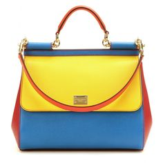 Dolce & Gabbana - Miss Sicily Leather Tote.......