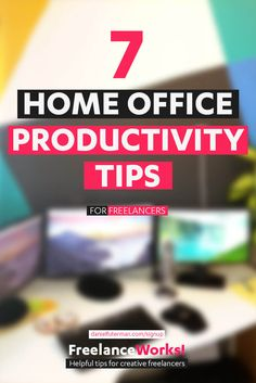 Working from a home office is amazing, but it can be challenging too. Here are 7 Tips and mindsets shifts to help you work from home effectively: http://www.danielfuterman.com/home-office/