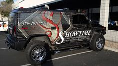 Look at the awesome vehicle wrap we did for Showtime Realty. Call Speedpro Imaging Mesa- Gilbert for more information on vehicle wraps, graphics, and magnets.