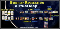 Explore the Book of Revelation Virtually & See the Big Picture! Visually explore all 22 Chapters zoomed out for an overall view or zoom in for more details. Revelation Bible Study, Feast Of Tabernacles, Bible Knowledge, Big Picture, Word Of God, Words, Book, Side Bar, Sacred Geometry