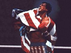 I know Rocky was a fictional character but he was still the man lol