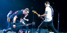 jeff ament, mike mcready live on stage
