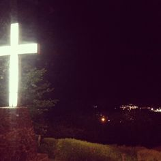Fayetteville, Arkansas - Mt. Sequoyah overlooking the city