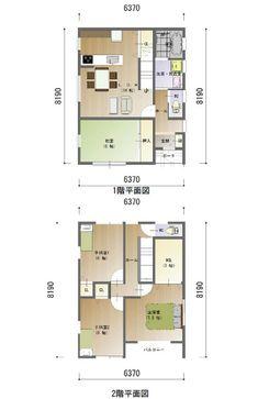 間取り 企画プラン 32坪 Floor Plans, Japan, Home, Okinawa Japan, Ad Home, Homes, House Floor Plans, Houses, Haus