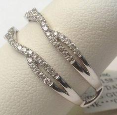 Perfection Baguette 12ct tw Diamond Enhancer Wrap in 14k