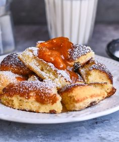 French Toast, Food And Drink, Sweets, Snacks, Meals, Cookies, Baking, Breakfast, Cake
