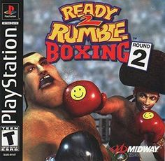 Complete Ready 2 Rumble:Round 2 - PS1 Game