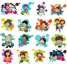 Illustration about Easy to edit vector illustration of good habits chart. Illustration of healthcare, brushing, dental - 33915949 Good Habits For Kids, Lessons For Kids, Kids Vector, Vector Free, Vector Graphics, Cartoon Kids, Drawing For Kids, Happy Kids, Clipart