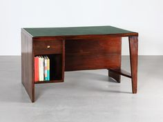Desk, 1952-56 | Pierre Jeanneret | Galerie Patrick Seguin | 20th Century Furniture & Architecture