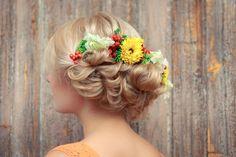 Hiusmalleja ja kukkaseppeleitä - Starbox