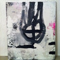 Abstract Expressionism Painting Acryl on by TheEuropeanStreets, $169.00