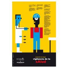 Vigilancia de la salud #riesgoslaborales #cartel #salud #Asturias