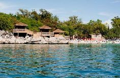 Royal Caribbean Cruise Line's Nellie's Beach cabanas in Labadee, Haiti (their private peninsula)