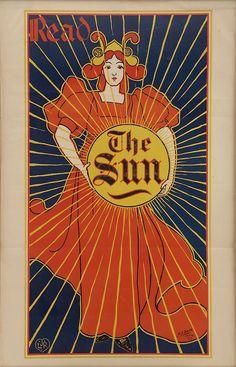 Read the Sun Jugendstil ad.1909
