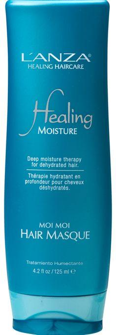 Die L'ANZA Moisture Healing Moi Moi Mask verspricht die Versorgung mit reichhaltiger Feuchtigkeit, gesunde Pflege für gesundes Haar.