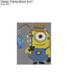 Fishing Minion 5x4