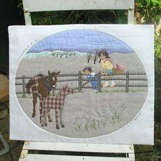 Para ver el potro - sha viento neto Yu colcha de retazos artesanía Kit Shop