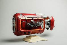 "Rey´s speeder | by robert.lundmark via Flickr - it's almost 18"" long; love this build!"