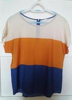 Kup mój przedmiot na #vintedpl http://www.vinted.pl/damska-odziez/koszulki-z-krotkim-rekawem-t-shirty/16100475-przewiewna-koszulka-w-trzech-kolorach
