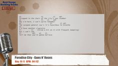 Paradise City - Guns N' Roses Vocal Backing Track with chords and lyrics