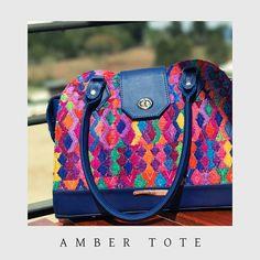 Amber Tote by ThelmaDavila