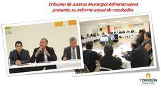 El Tribunal de Justicia Municipal Administrativa (TJM), presentó su Informe de Actividades y Resultados 2016, en el que resaltó el ...