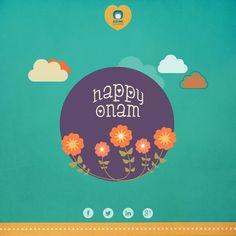Creative Design for Onam Festival 2014.
