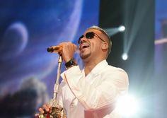 Romeo Santos performs at Toyota Center on June 3.