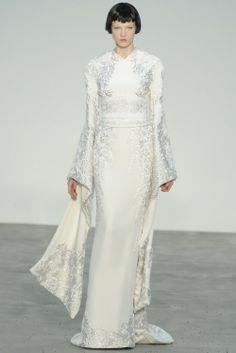 Vestido de novia 2014 con inspiración oriental