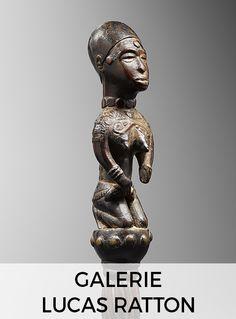 KONGO Congo DRC, XIX End Wood and metal Height: 25.5 cm