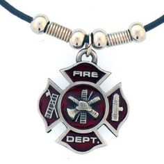 """Checkout our #LicensedGear products FREE SHIPPING + 10% OFF Coupon Code """"Official"""" Earth Spirit Necklace - Maltese Cross - Officially licensed Military, Patriotic & Firefighter product 20 inch chain necklace Spring ring clasp Great for game day and nice enough for every day Firefighter charm with enameled team colors - Price: $17.00. Buy now at https://officiallylicensedgear.com/earth-spirit-necklace-maltese-cross-pt253s"""
