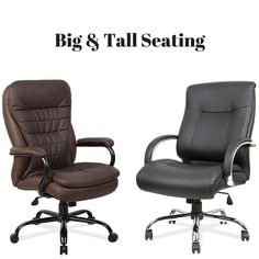 OfficeSource Big-N-Tall Seating offers uncompromising comfort while at the same time offering functional support. The extra wide and extra deep seats make these chairs perfect for people looking for a less restrictive office chair. #bigandtall #big #tall #comfort #seating #swivel #adjustable #officelife #officecomfort #ny #nj #pa #wedeliver #support #backsupport
