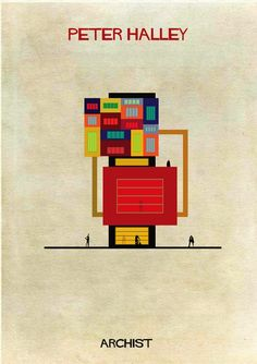 Iconic Artists' Styles Portrayed as Architectural Structures - My Modern Metropolis