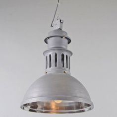Hanglamp Supply oud grijs - Lampenlicht.nl