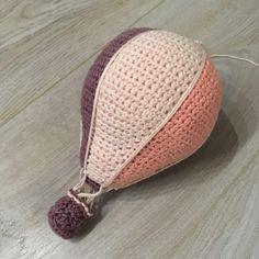 Opskrift på hæklet luftballon – Plantetanter