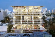 Three of the World's Prettiest Parking Garages Are In One Small City