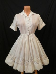 Lou Ross Vintage Shirt Dress - BUY IT NOW at JOHNNY BOMBSHELL!