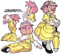 Sonic And Amy, Sonic Boom, Amy Rose, Sonic The Hedgehog, Character Art, Character Design, Jane Porter, Sonic Fan Art, Star Wars Art