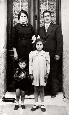 Ioannina, Greece. On 1944, Eftihia Batis and her children were deported to #Auschwitz