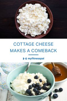 Cottage cheese is a