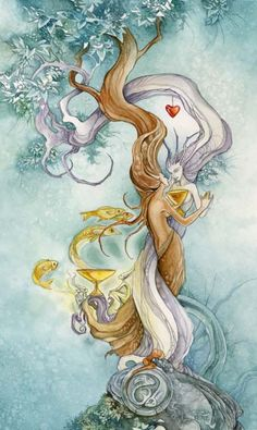 #Two of Cups www.facebook.com/madamastrology  Fans get FREE Natal Chart Report -- pinned using BrowserBliss