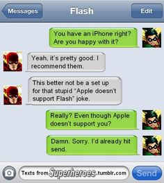 Want to know how Wonder Woman and Superman have sex? 'Texts From Superheroes' reveals this and other secrets via snarky text messages between superheroes.