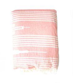 """100% cotton with a yummy fleece lining. Size: 50"""" x 60"""".     SaveSaveSaveSave"""