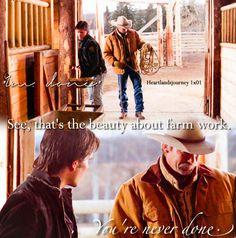 """The beauty about farm work.""  Jack & Ty - Season 1 Episode 01"