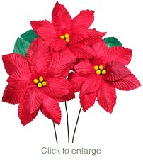 Large Corn Husk Red Poinsettias - Bouquet of 6 Mexican Paper Flowers, Paper Flowers Diy, Handmade Flowers, Flower Crafts, Fabric Flowers, Doll Crafts, Paper Crafts, Corn Husk Crafts, Corn Husk Dolls
