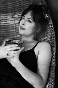 Dakota Johnson photographed at home by Greg Williams - 11 January 2018